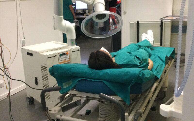 sicurezza da aerosol potenzialmente infetto per i pazienti in pronto soccorso